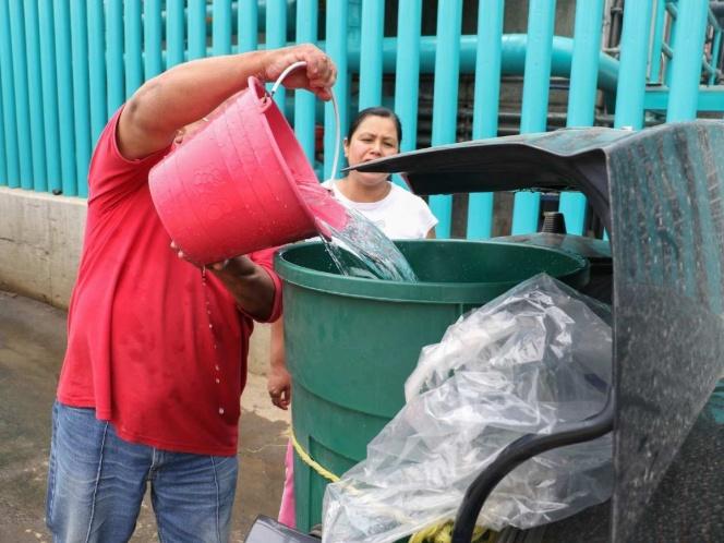 Reducen suministro de agua en Ecatepec durante emergencia por Covid-19 (Estado de México)