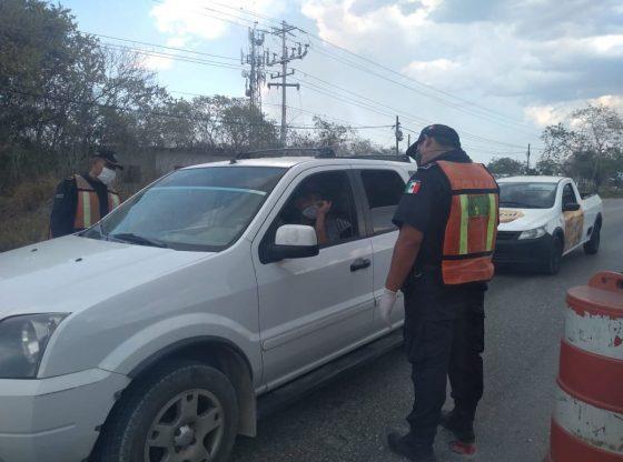 Preocupa instalación de retenes policiacos en plena contingencia (Yucatán)