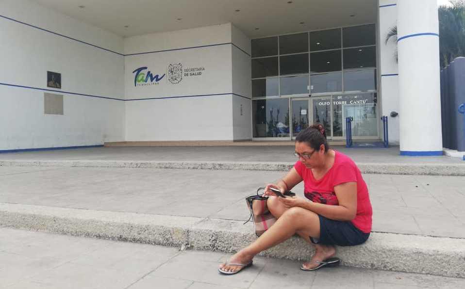 """""""No he recibido un trato digno"""": Esposa de caso confirmado de covid-19 (Tamaulipas)"""