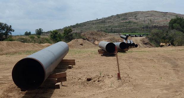 Frente de Pueblos exige reunión con Enagas por gasoducto Morelos (Puebla, Morelos)