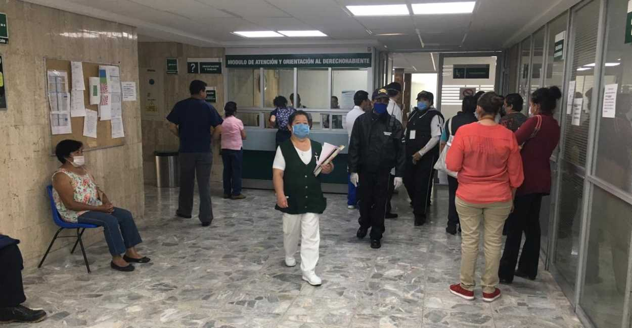 Personal del IMSS de Zacatecas se manifiesta contra delegada