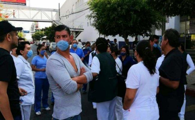 Médicos del IMSS en Morelos se manifiestan y exigen equipo de protección (Morelos)