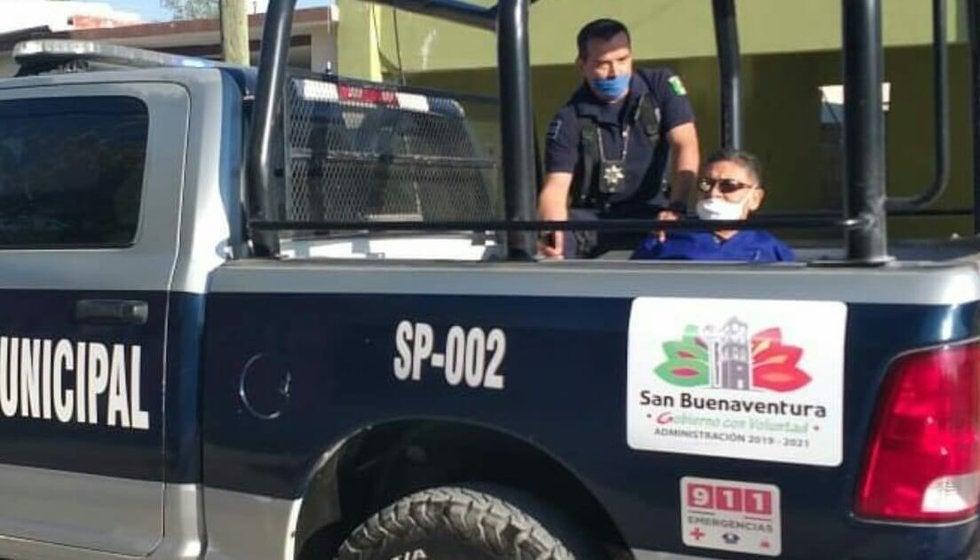 Policías de San Buenaventura acosan, golpean y detienen a médico de Monclova (Coahuila)