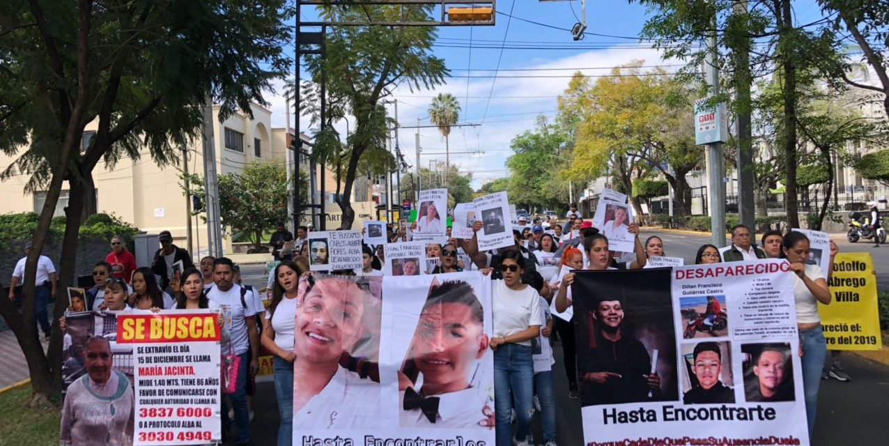 Madres convocan a marcha virtual por sus hijas e hijos desaparecidos en Jalisco