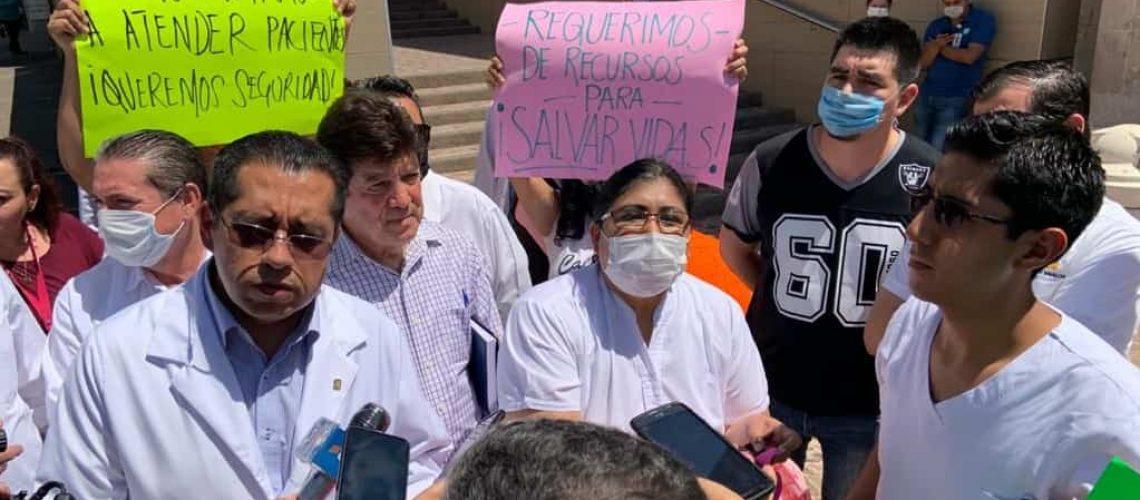 Los desencuentros en el IMSS; falta de equipo, el reclamo de médicos y enfermeras (Sinaloa)