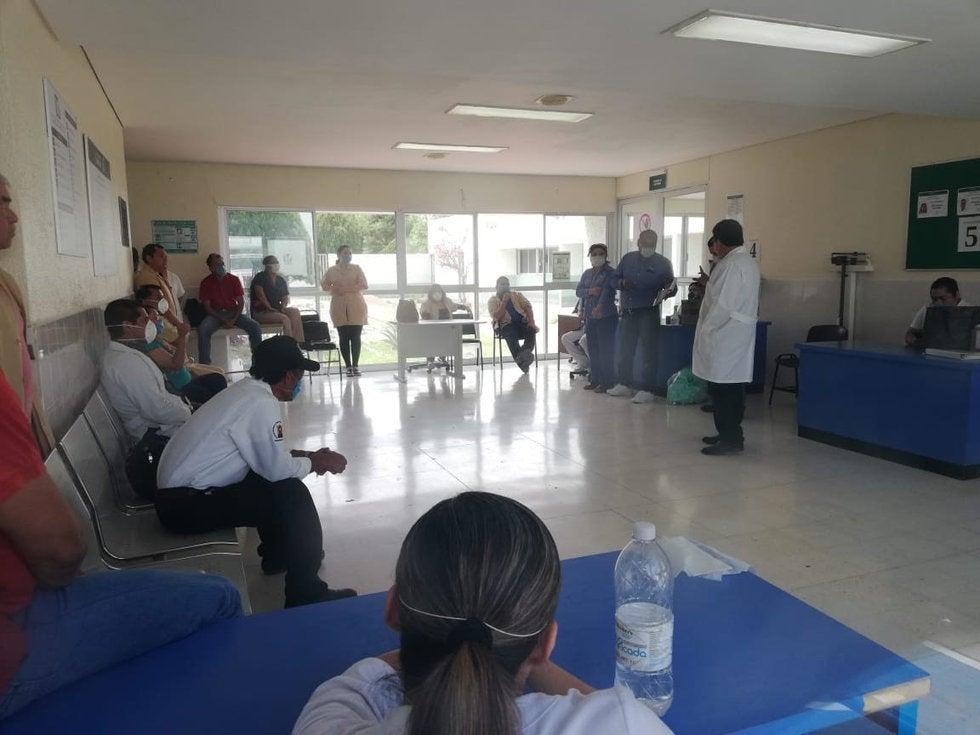 Realizan paro en la clínica 51 del IMSS en San Buenaventura, Coahuila; no tienen insumos