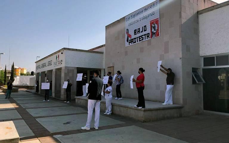 Personal suplente del Hospital General de Jerez exige retabulación