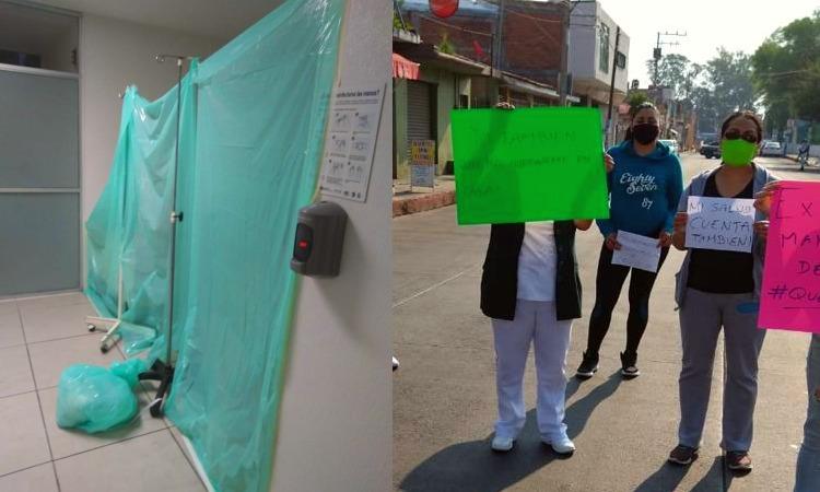 Denuncian falta de protocolo para atender COVID-19 en Michoacán