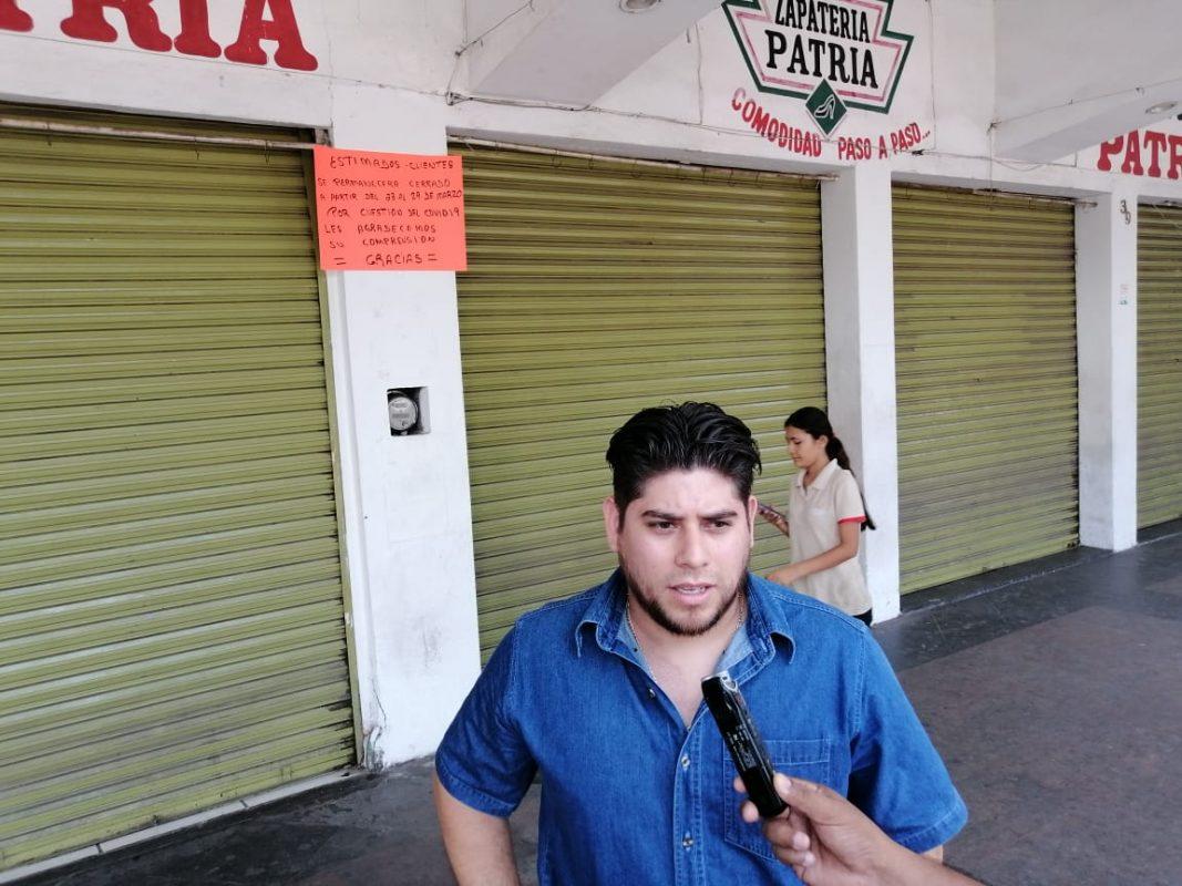 Demandan comerciantes tecomenses que también cierren Elektra y Coppel (Colima)