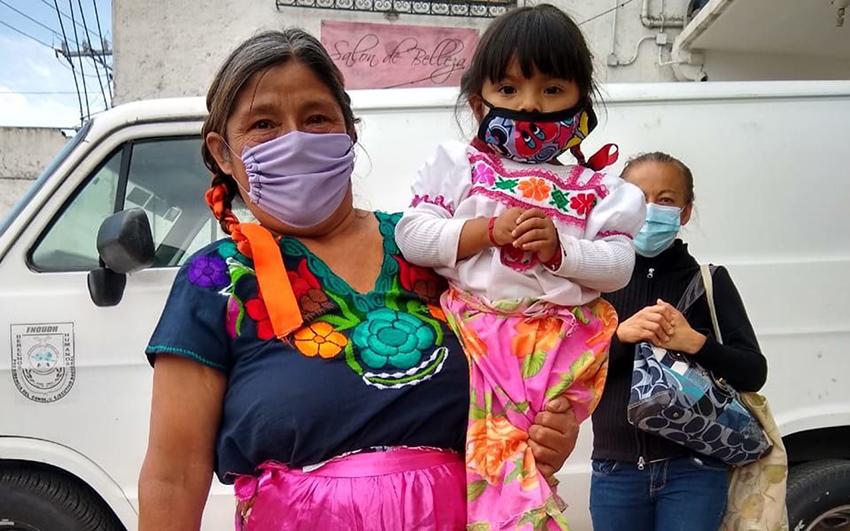 Indígenas en la Ciudad de México acusan abandono durante contingencia
