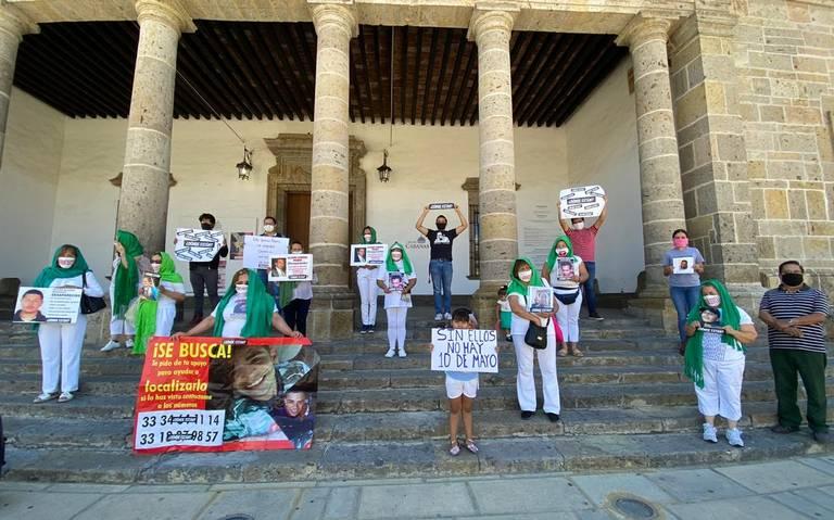 Madres de desaparecidos se manifestaron para exigir su localización (Jalisco)
