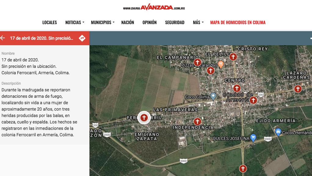 Torturadas, semidesnudas y amarradas, asesinan a 4 mujeres en 5 días en Colima