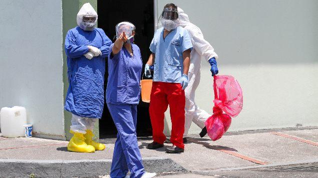 Suman 11 mil 394 casos acumulados de COVID-19 en personal de salud