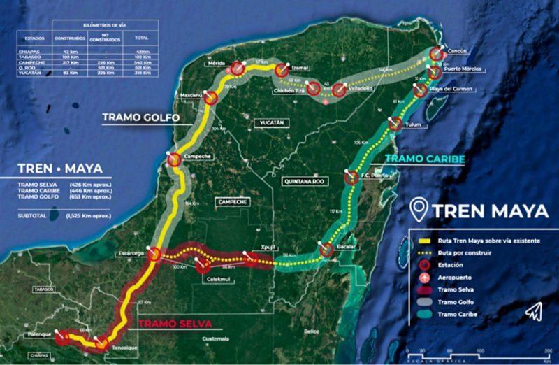 CNDH pide suspender de manera urgente obras del Tren Maya