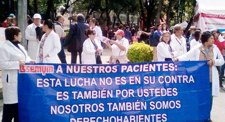 Por Indolencia de Líderes sindicales y Funcionarios, Surge Rebelión de las Batas Blancas