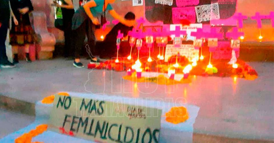 Van cinco feminicidios en Tamaulipas en lo que va del año