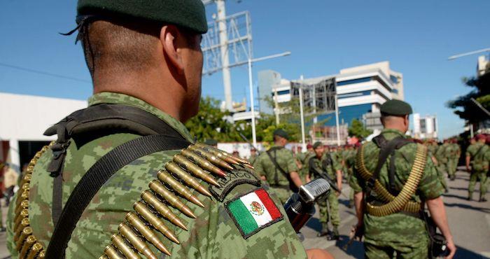 A contracorriente de los derechos humanos, avanza la militarización de la seguridad pública en México