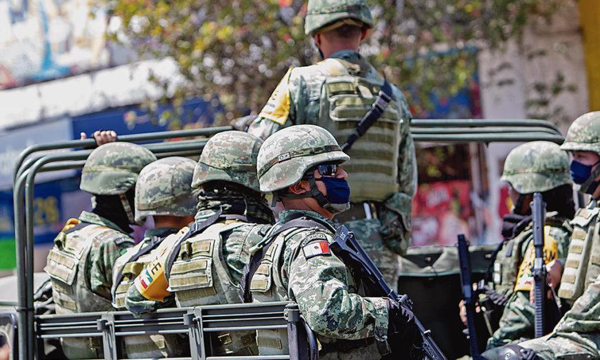 Un paso más hacia la militarización
