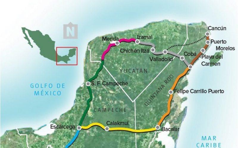 Suspenden reubicación de pobladores de Campeche por el Tren Maya