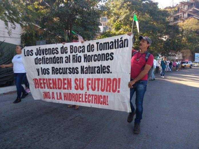 Colectivo se opone a la construcción de hidroeléctrica en Boca de Tomatlán (Jalisco)