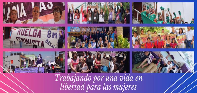 Exigen intervención de Segob y FGR para proteger e investigar amenazas a feministas de Consorcio (Oaxaca)