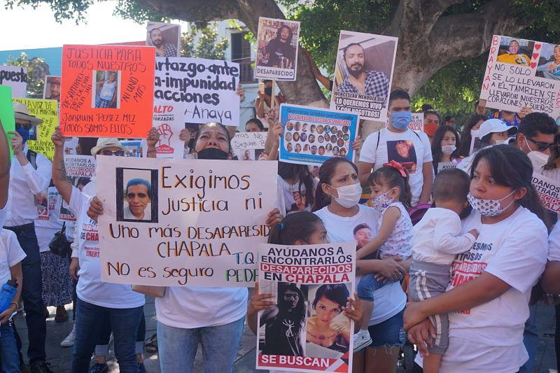 """""""No son invisibles: están desaparecidos"""", clamor de familiares de desaparecidos en la ribera de Chapala (Jalisco)"""