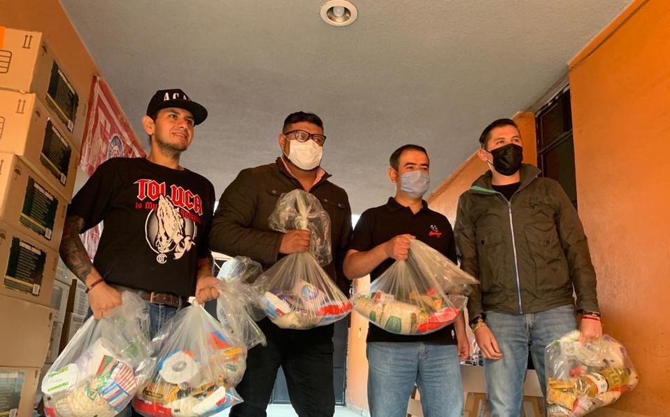 En Toluca, asociaciones se unen y donarán despensas (Estado de México)