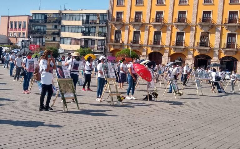 """Realiza colectivo la  """"III Marcha por la Dignidad de Todos los Desaparecidos"""" (Nayarit)"""