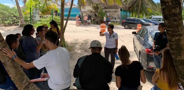 Niños de Tulum se unen a 'batalla' legal para frenar devastación en Xcacel-Xcacelito
