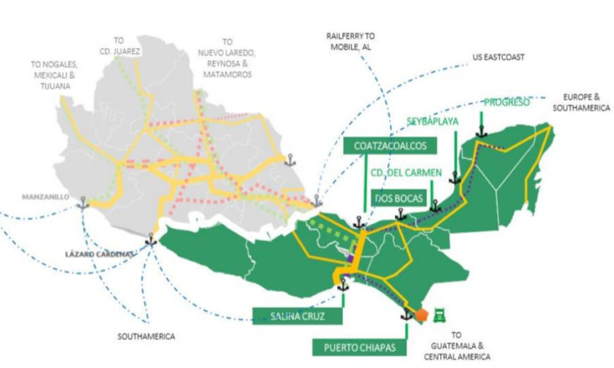 """AMLO aprovecha confinamiento para imponer de manera """"autoritaria"""" el corredor interoceánico: ONG (Oaxaca)"""