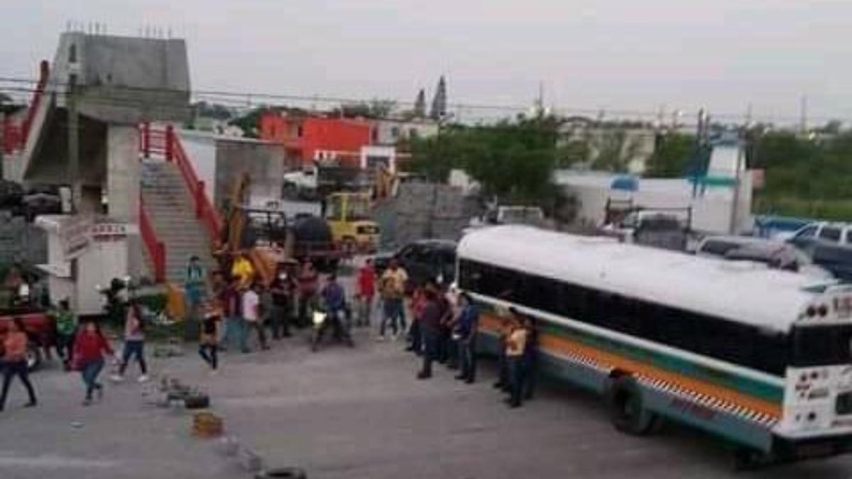 Bloquean accesos a parques industriales por detención de Susana Prieto (Tamaulipas)