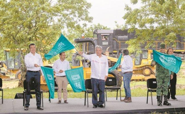 Inician Tren Maya al margen de la ley ambiental