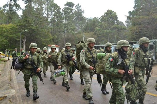 5 mil 404 militares, marinos y GN desplegados en Chiapas