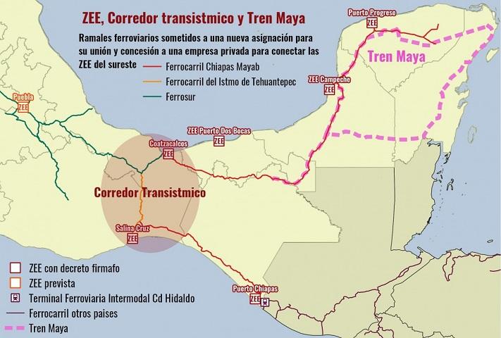 Corredor Interoceánico fortalece al capitalismo global a través del despojo: REMA  (Oaxaca)