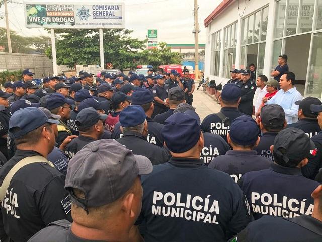 Juchitán: ahora 40 policías se encuentran aislados al contagiarse de covid-19 (Oaxaca)