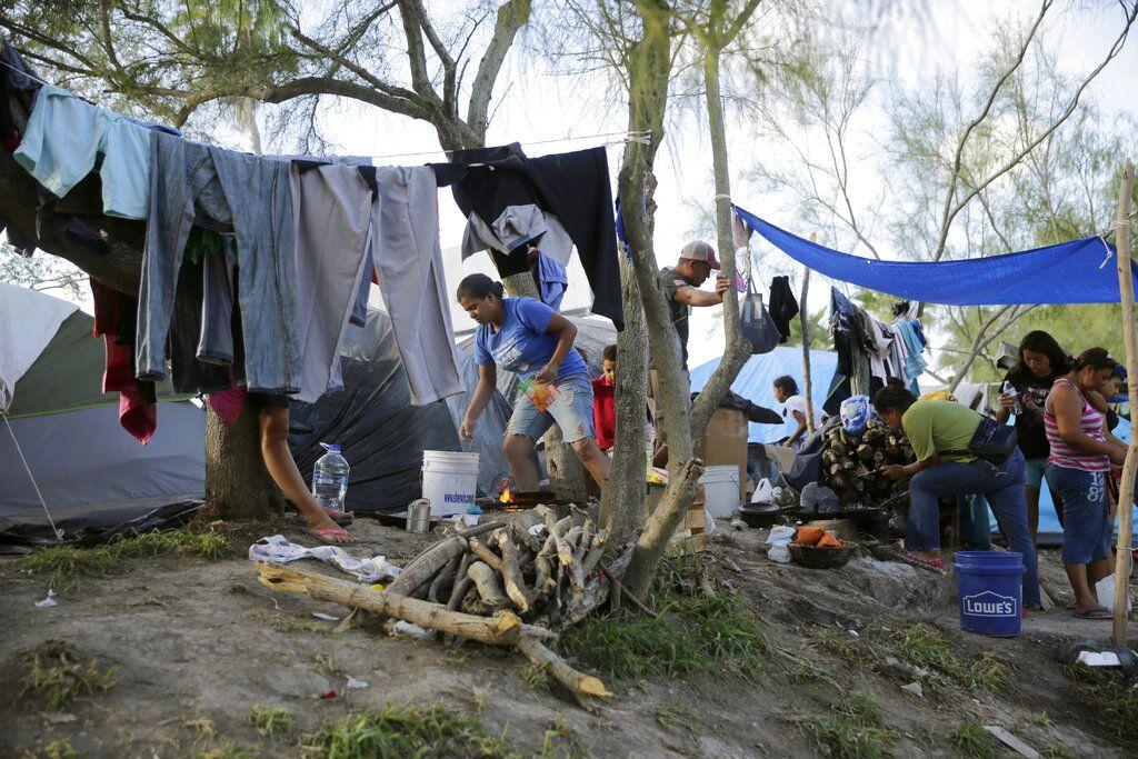Reportan covid-19 en campamento de migrantes en Tamaulipas