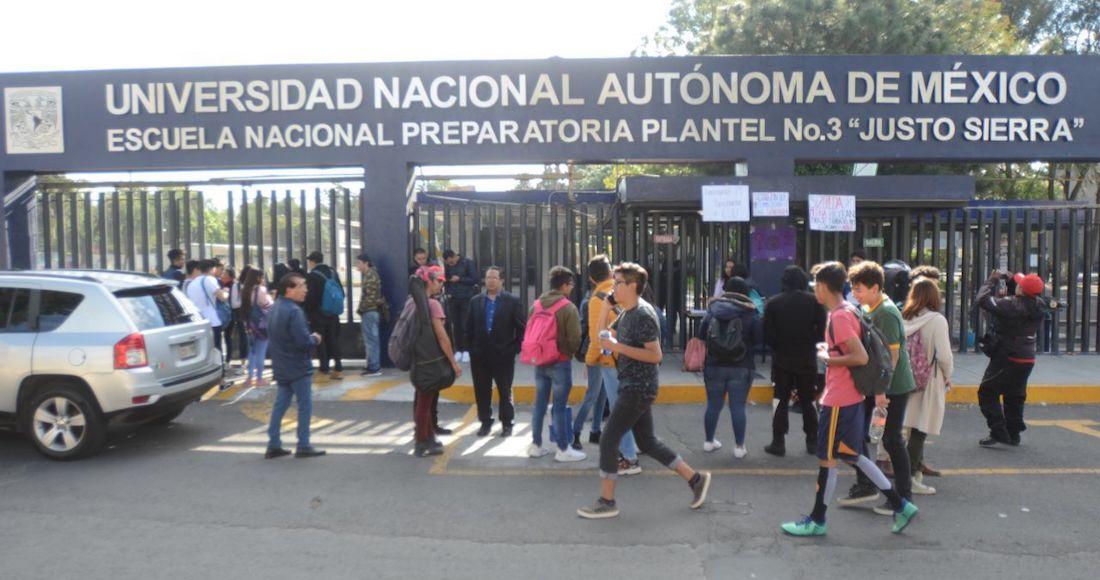 Estudiantes de la Prepa 3 de la UNAM levantan paro luego de 6 meses y entregan las instalaciones (Ciudad de México)