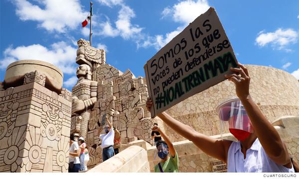 (In) Movilidades y desplazamientos humanos en la Manifestación de Impacto Ambiental del Tren Maya