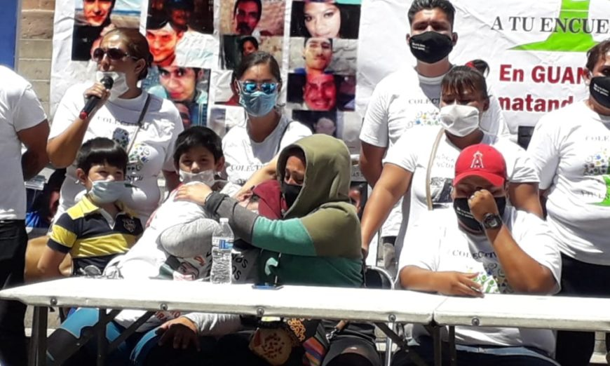 Familiares de desaparecidos denuncian amenazas y desinterés del gobierno de Guanajuato