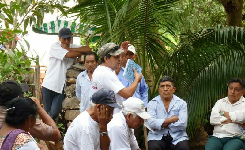 Acusan a AMLO de ignorar la resistencia de los indígenas al Tren Maya