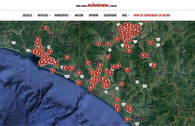 """Datos oficiales del SESNSP """"borran"""" 75 homicidios registrados en Colima en 2020"""