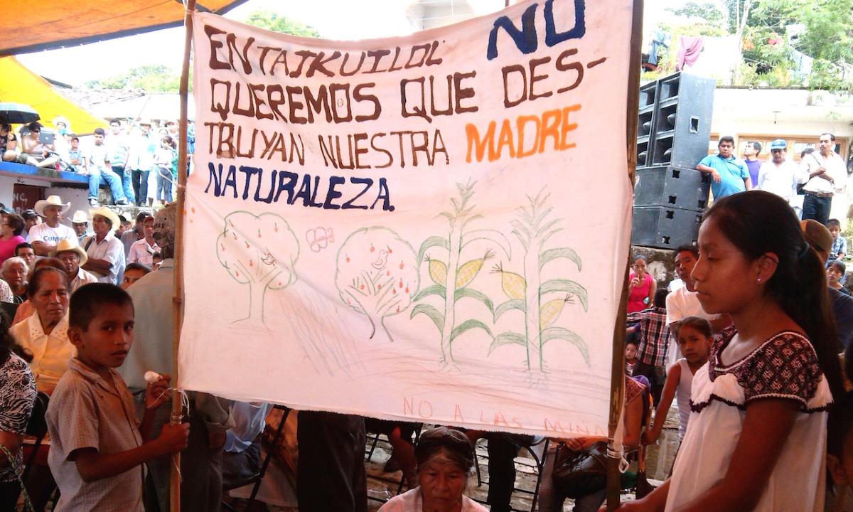 """""""El territorio es algo muy fuerte para nosotros"""". Maseuales contra Ley Minera (Puebla)"""