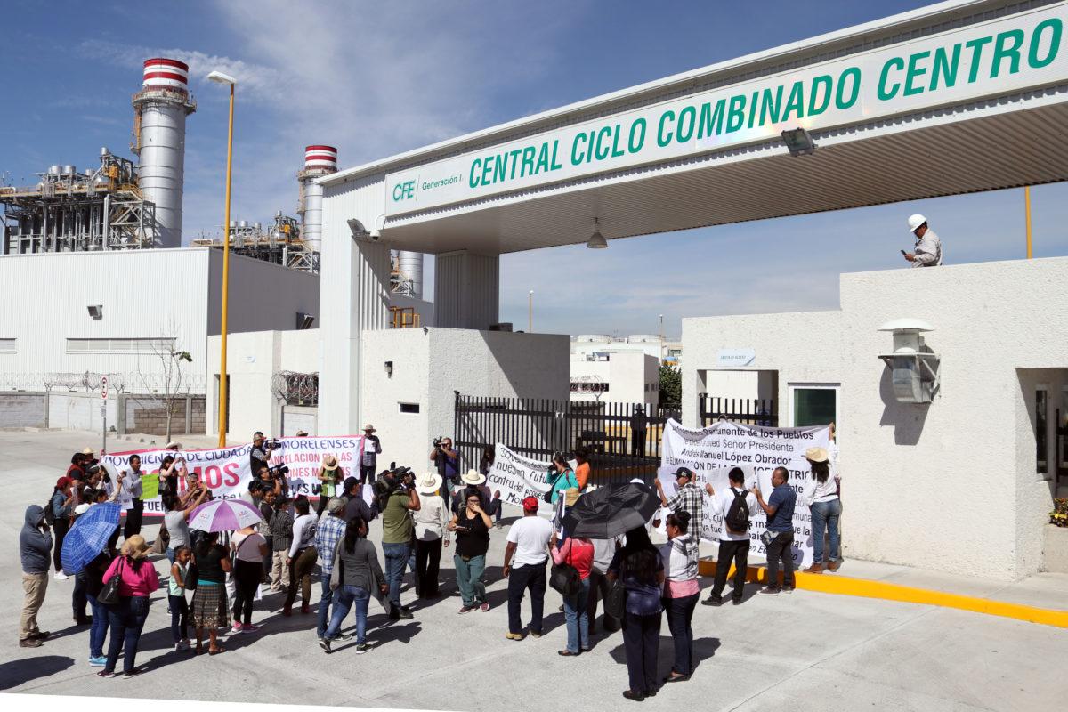 AMLO viola suspensiones provisionales con gasoducto Morelos: Frente de Pueblos
