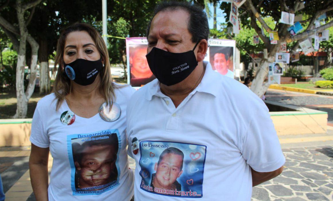Familiares de desaparecidos en Veracruz denuncian amenazas de expolicías