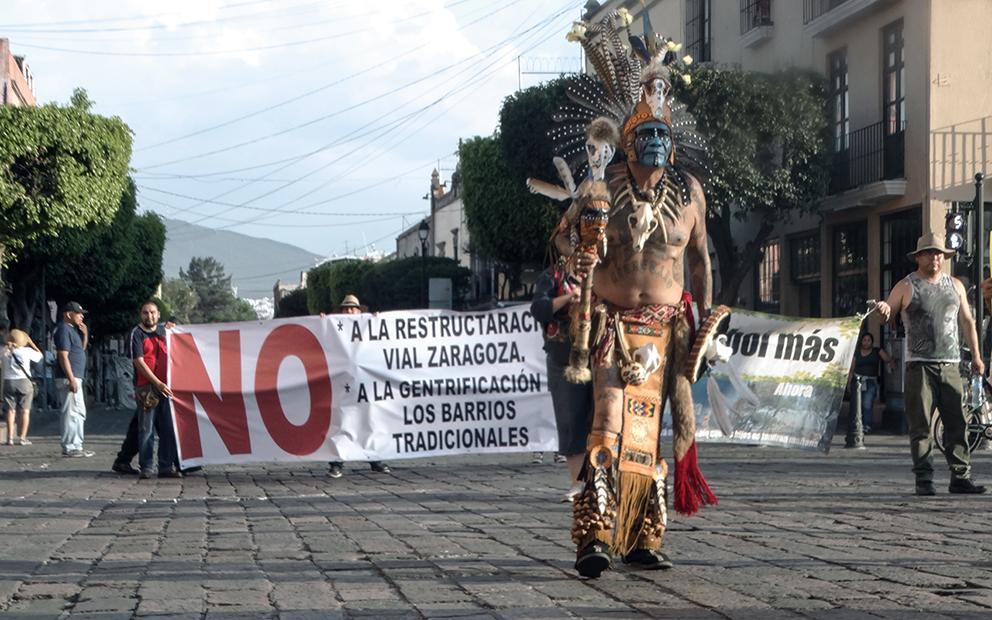 Crean autogobierno indígena en centro histórico de la ciudad de Querétaro