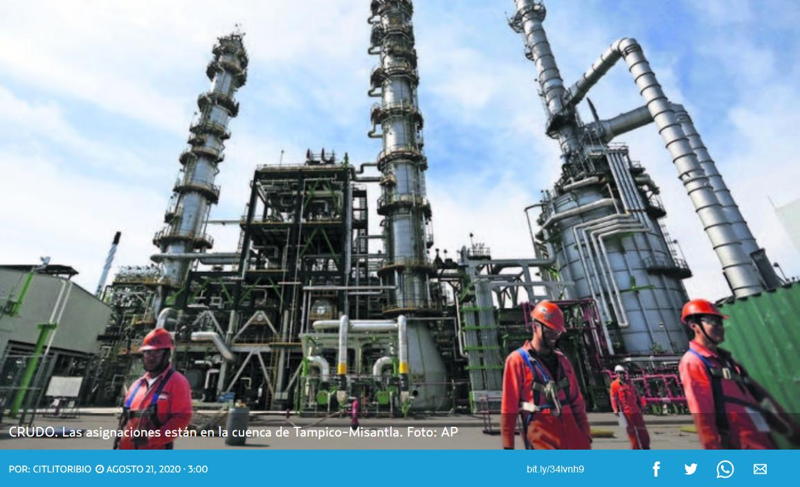 Fracking en Pemex (Veracruz)