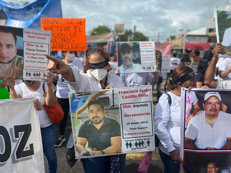 Verdad y Justicia desaparecidas en Nayarit