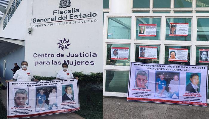 Madres y padres de jóvenes de Aguascalientes desaparecidos en Jalisco señalan las trabas con las que se han topado durante su búsqueda