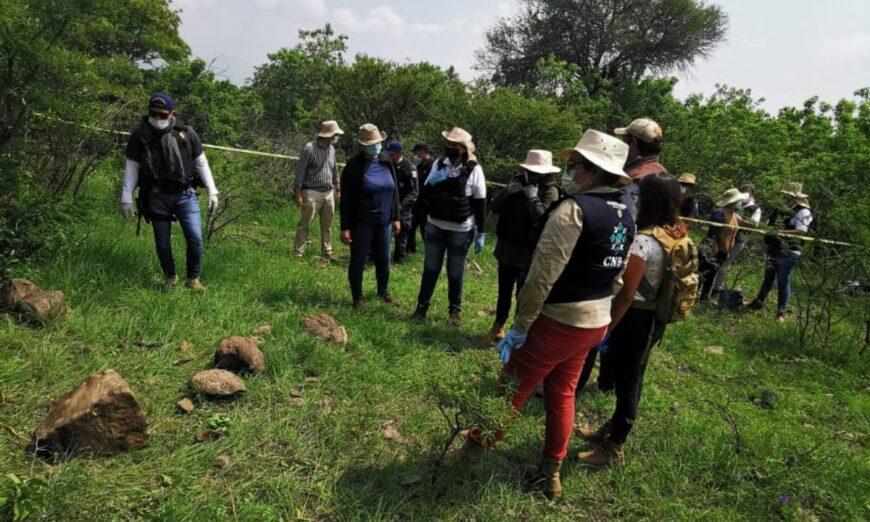 Familiares de desaparecidos hallan huesos y balas en Irapuato y Villagrán (Guanajuato)