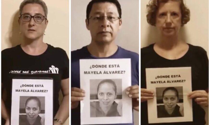 Comunidad de CIESAS exige resultados a Fiscalía de NL por desaparición de compañera